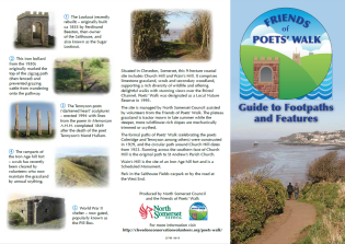 Poets' Walk leaflet info