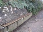 Poets' Walk bench