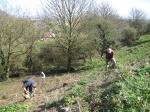 tidying Wain's Hll ramparts