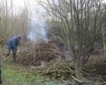 January bonfire 2013