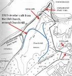 1923 Church Hill path