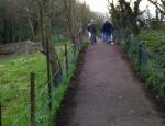path beside Glebe