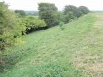 Wain's Hill ramparts last scything