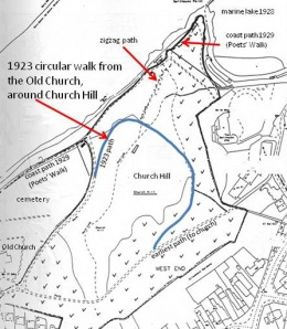 1920s Church Hill horseshoe track update 3