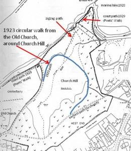 1920s Church Hill horseshoe track update 3