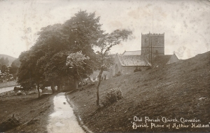 Path to the Old Church 1914