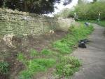 green gate bank weeding