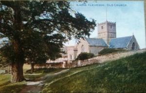 Old Church postcard 1