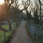 coastal path and Glebe field