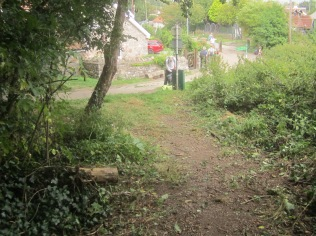 Wain's Hill zigzag cleared of nettles