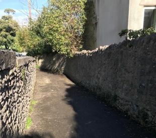 path to Salthouse carpark
