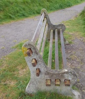 seat on Wain's Hill