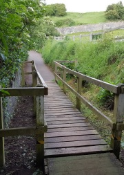 the badger bridge and Church Hill