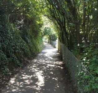 the coast path, Church Hill 1