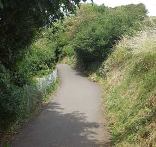 the coast path, Church Hill 2