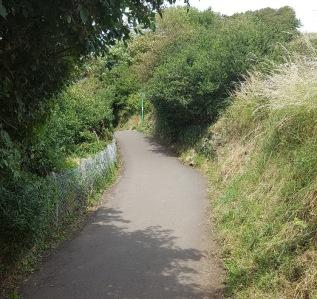 the coast path, Church Hill 2