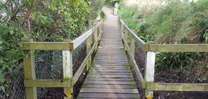 the badger bridge gets some more tlc