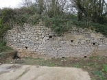 Wain's Hill Battery retaining wall fixed Oct 2017