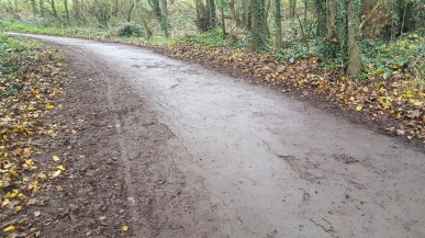 Wain's Hill path swept