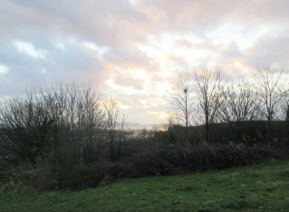 a view to the west from Church Hill