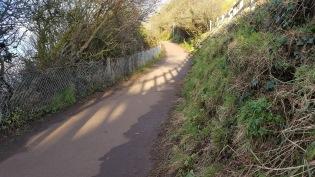 the coast path, Church Hill