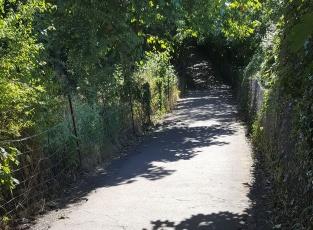 coast path near the Glebe field b