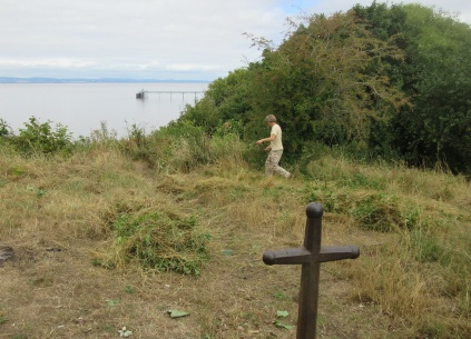 scything at the zigzag view point