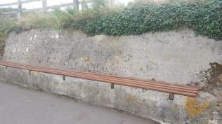 coast path seats tidied