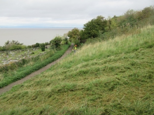 late summer grass cutting on Church Hill