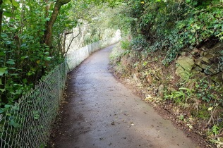 coastal path on Church Hill