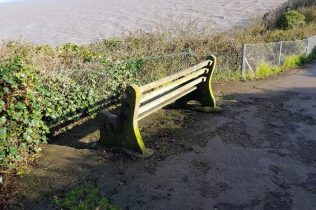 coast path bench
