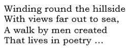 1st lines Peter Gibbs' poem
